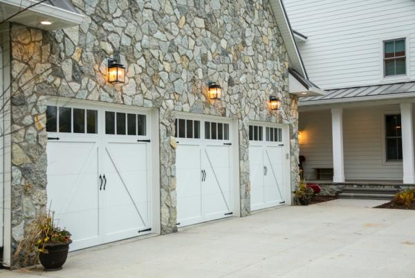 Custom Home Garage | Custom Home Builder and General Contractor Iowa City