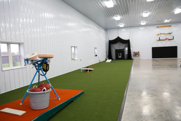 Custom Shop Iowa City Sports area