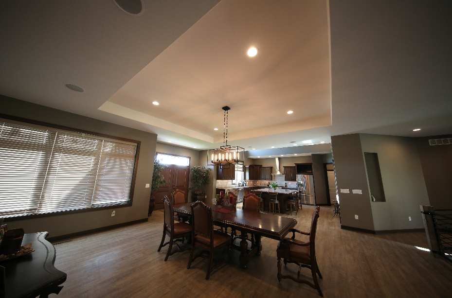 Living Area Stebral Construction Home Builder Iowa City , Coralville Solon North Liberty