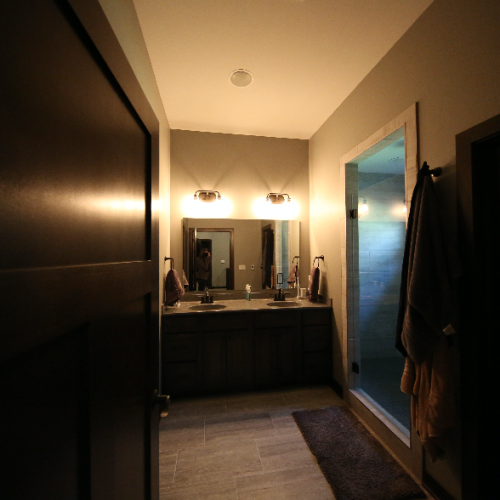 Master Bath from Stebral Construction Home Builder Iowa City, Coralville, Solon, North Liberty