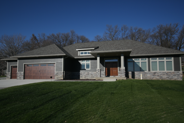 Exterior Home Stebral Construction Home Builder Iowa City, Coralville, Solon, North Liberty