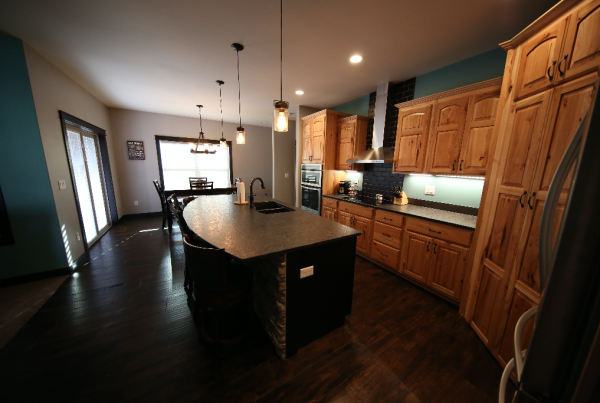 Kitchen New Home Construction Stebral Construction Home Builder Iowa City, Coralville, Solon, North Liberty