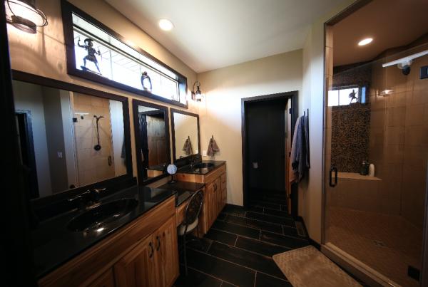 Master Bathroom Design Stebral Construction