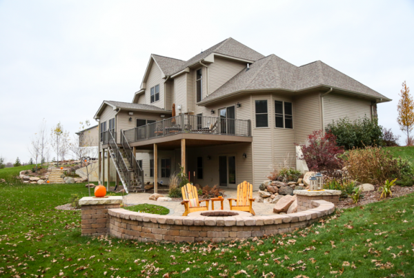 Rustic Custom Home Iowa City and Solon