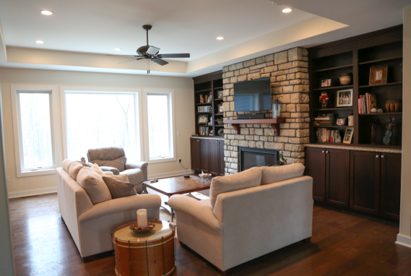 Living area and Design Iowa City