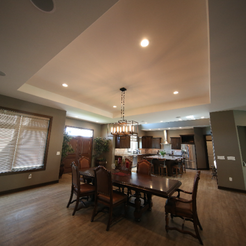 Living Area Stebral Construction Home Builder Iowa City , Coralville Solon North Liberty