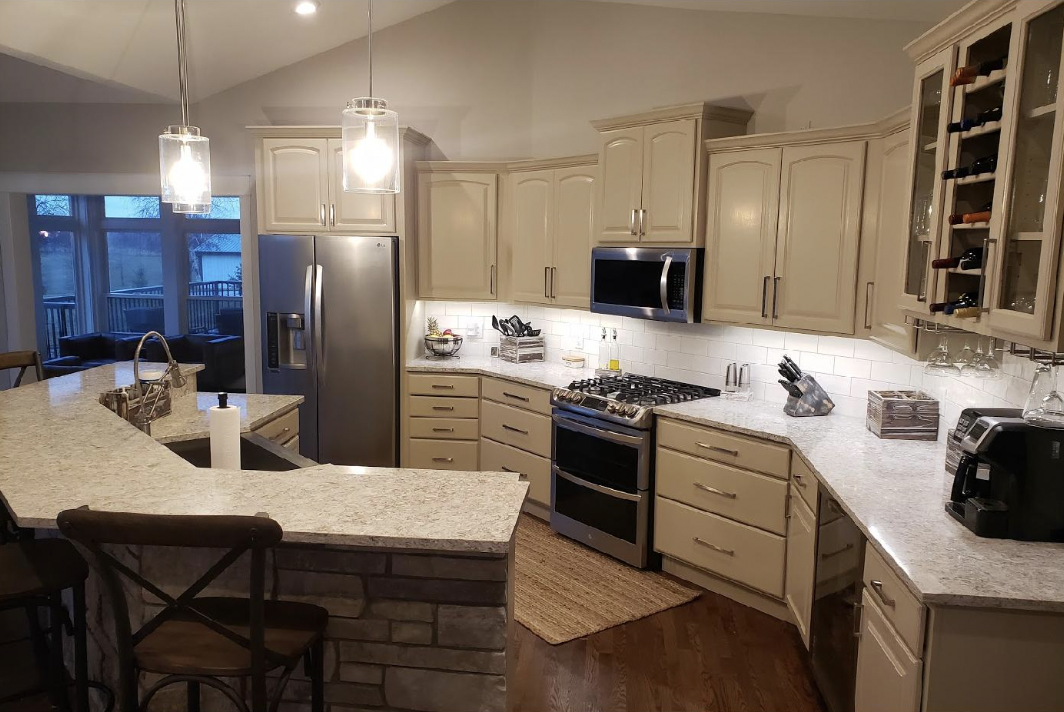St. Germain Wisconsin Kitchen Remodel - New Home Construction